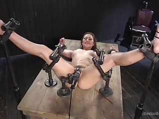 There is no place for fear when Dani Daniels trying new levels of pleasure