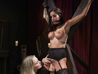 Huge tits of a male effeminate gets bore whipped