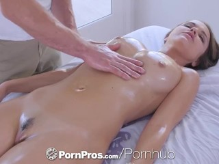 PornPros cascading moist muff rubdown and tear with for chesty Dillion Harper best porn