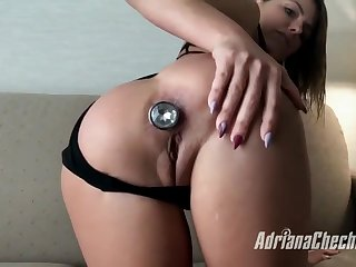 Adriana Chechik in POV Style Ass Fuck With Squirt