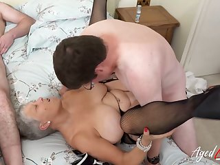 AgedLovE Duo Matures Enjoying Hard Eternal Fuck