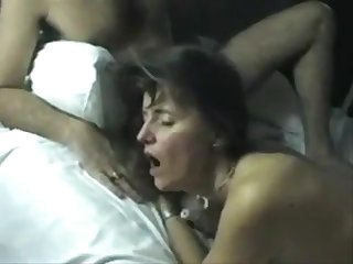 Older Euro Couple Invite A Young Ray For An Intimate Threesome Orgy