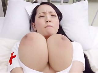 Japanese pornstar Hitomi Tanaka Meticulousness By oneself - playing with monster tits