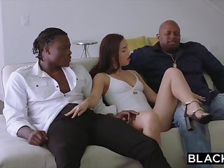 BLACKED 2 Teenagers Get Creampied By Being Ebony Sink